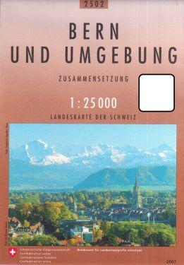 Bern und Umgebung / Berna e dintorni 1:25.000