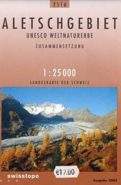 Aletschgebiet 1:25.000