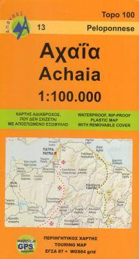 Achaia (Acaia) 1:100.000
