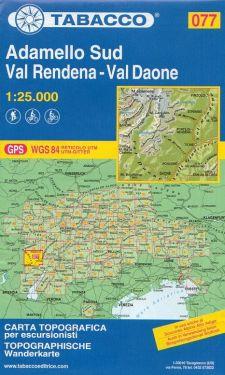 Adamello Sud, Val Rendena, Val Daone 1:25.000