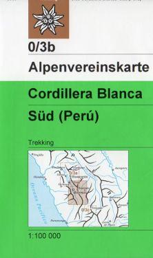 Cordillera Blanca Sud 1:100.000