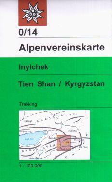 Inylchek, Tien Shan 1:100.000
