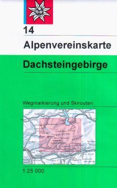 Dachsteingebirge 1:25.000