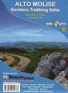 Alto Molise, Sentiero Trekking Italia f.22 1:25.000