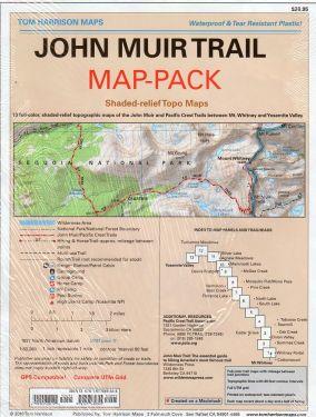 John Muir Trail 1:63.360