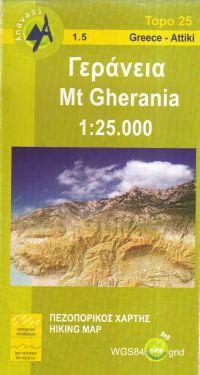 Mount Gherania 1:25.000