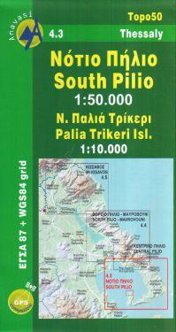 South Pilio, Palia Trikeri Island 1:50.000