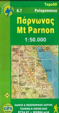 Mount Parnon 1:50.000