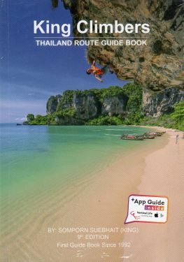 King climbers, Thailand Route guide book