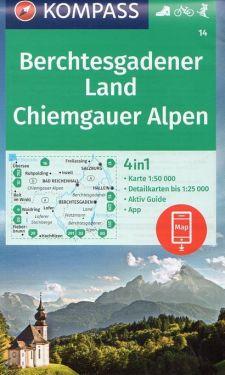 Berchtesgadener Land, Chiemgauer Alpen 1:50.000