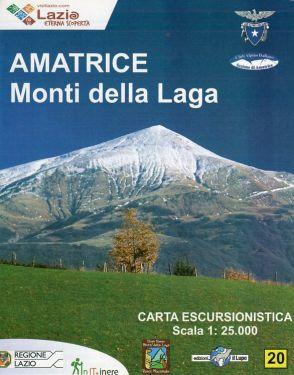 Amatrice, Monti della Laga f.20 1:25.000