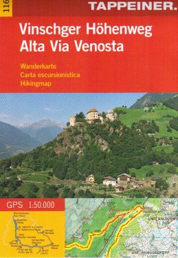 Alta Via Venosta 1:50.000
