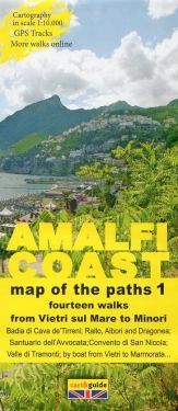 Amalfi Coast from Vietri sul Mare to Minori 1:10.000 (1)