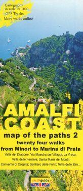 Amalfi Coast from Minori to Marina di Praia 1:10.000 (2)