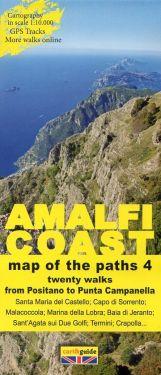 Amalfi Coast from Positano to Punta Campanella 1:10.000 (4)