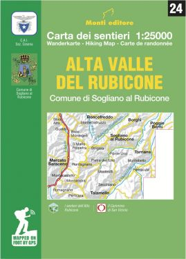 Alta Valle del Rubicone 1:25.000 (24)