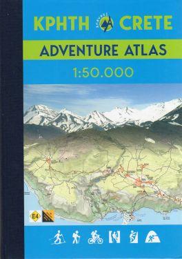 Crete adventure atlas 1:50.000 - with the Cretan Way