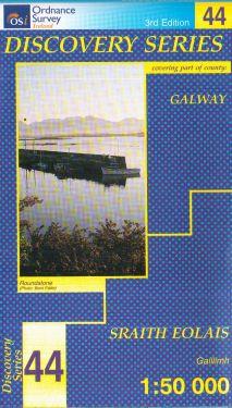 Galway contea - Connemara  f.44 1:50.000