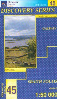 Galway contea - Cois Fharraige f.45 1:50.000