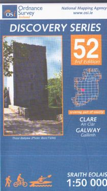 Clare e Galway conteee - Gort f.52 1:50.000