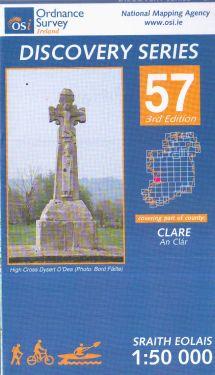 Clare contea - Spanish Point f.57 1:50.000