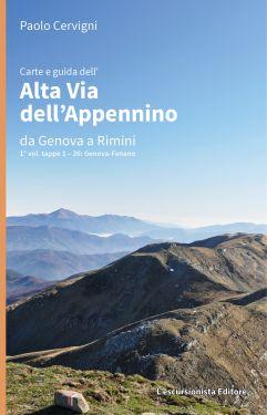 Alta Via dell'Appennino da Genova a Rimini - Vol.1 da Genova a Fanano