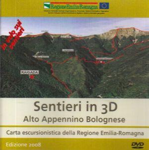 Sentieri in 3D - Alto Appennino Bolognese
