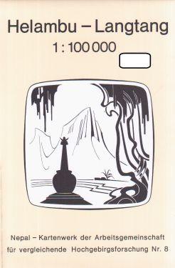 Helambu - Langtang 1:100.000