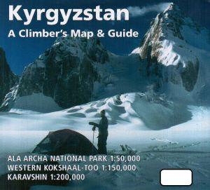 Kyrgyzstan a climber's Map & Guide