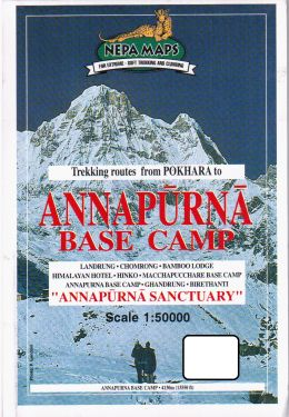 Annapurna Base Camp 1:50.000