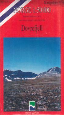 Dovrefjell 1:50.000 - 6 mappe