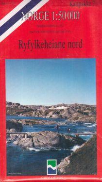 Ryfylkeheiane nord 1:50.000 - 6 mappe