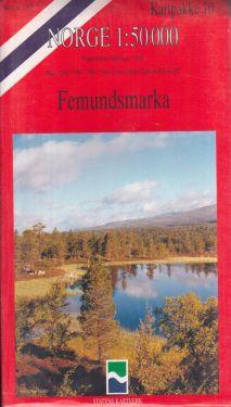 Femundsmarka 1:50.000 - 9 mappe