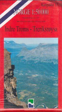 Indre Troms, Treriksrøysa 1:50.000 - 7 mappe