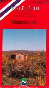 Finnmarksvidda 1:50.000 - 7 mappe