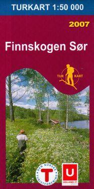 Finnskogen Sør 1:50.000 f 2676