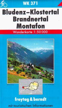 Bludenz, Klostertal, Brandnertal, Montafon 1:50.000