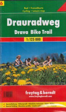Drauradweg Drava Bike Trail 1:125.000
