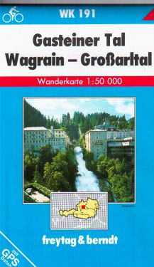 Gasteiner Tal, Wagrain, Grossartal 1:50.000