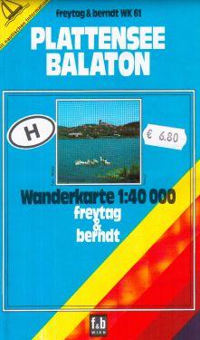 Plattensee, Balaton 1:50.000