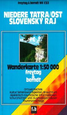 Niedere Tatra Ost 1:50.000
