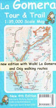 La Gomera Tour e Trail 1:35.000