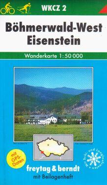 Bohmerwald West, Eisenstein 1:50.000