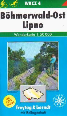Bohmerwald Ost, Lipno 1:50.000