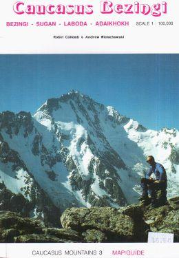 Caucasus Bezingi 1:100.000