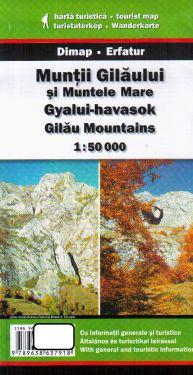 Gilau Mountains 1:50.000