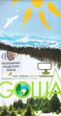 Gollja Mountain 1:50.000