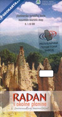 Radan Mountain 1:50.000