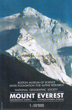 Mount Everest 1:50.000