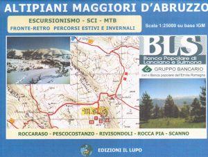 Altipiani maggiori d'Abruzzo f.10 1:25.000